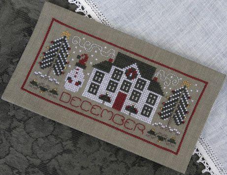 December Calendar Cover cross stitch Pinterest Stitch, Cross