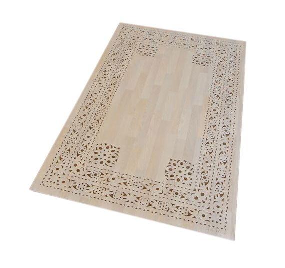 arzu firuz eden vinyl rug | woods, industrial and beach kitchens