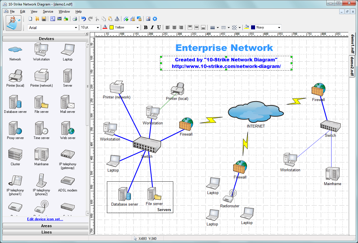 27 Stunning Network Diagram Software References Diagram Design Visio Network Diagram Topology