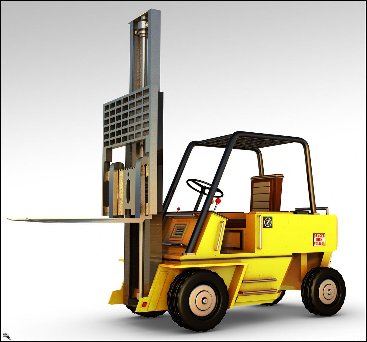 how to operate a forklift truck