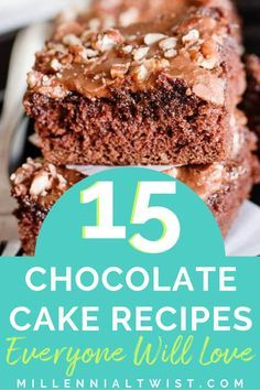 Looking for dessert ideas? Check out our list of 15 decadent chocolate cake recipes. #chocolatecake #chocolatecakerecipes #easychocolatecake #moistchocolatecake #dessertrecipes #cakerecipes #Suncare #Lotion #Foot Care #Deodorant #Body Skin Condition and Treatment #Essential Oil #Celebrity Makeup #easychocolatecake