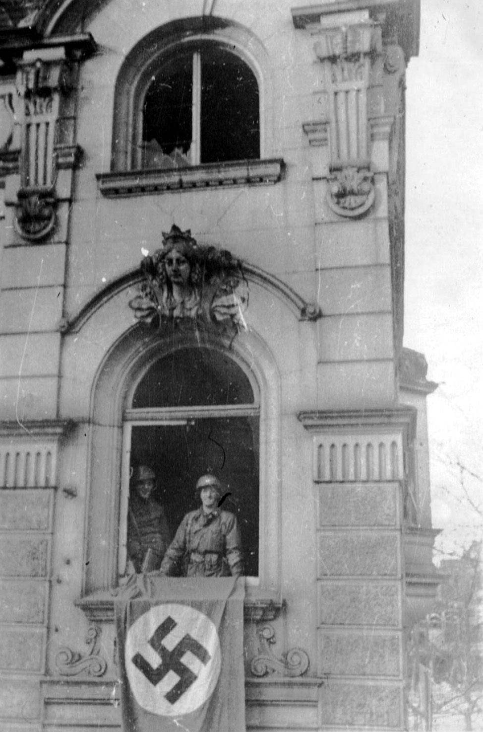 70th Infantry Division at Saarbrucken