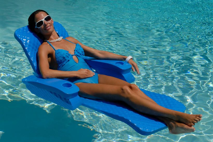 Pool Chair Floats Quality Foam Pool Chairs And Loungers