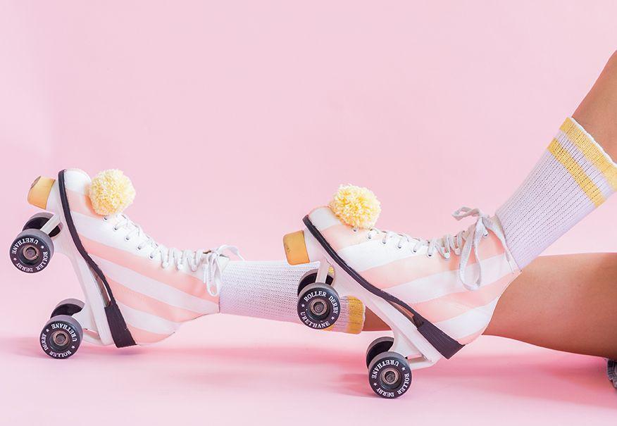 Diy paint your roller skates with images roller skates