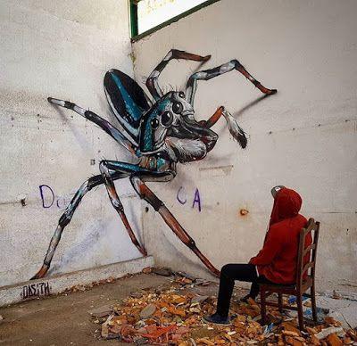 Stunning 3d Graffiti Artwork By Portuguese Artist Odeith Street