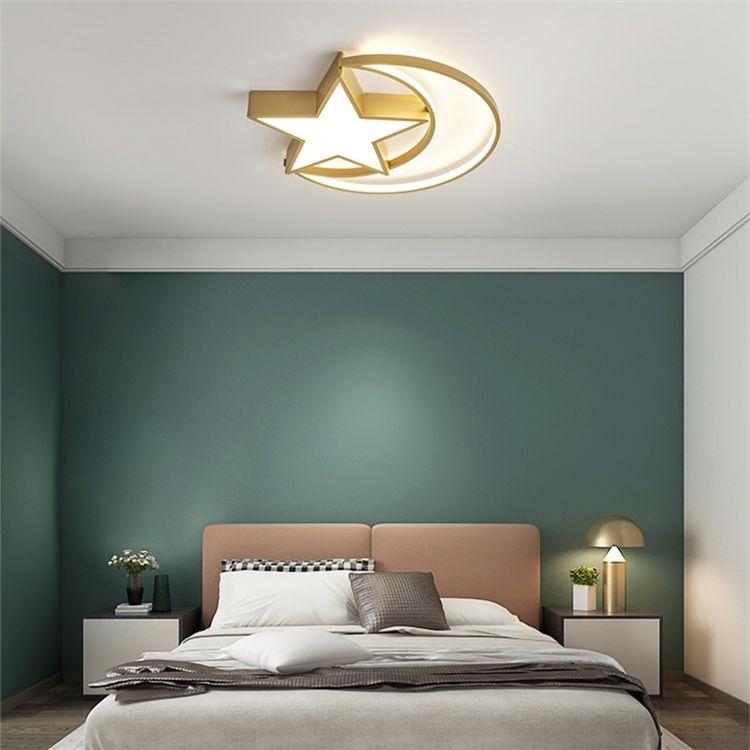 Ledシーリングライト リビング照明 子供屋照明 寝室照明 天井照明 星月