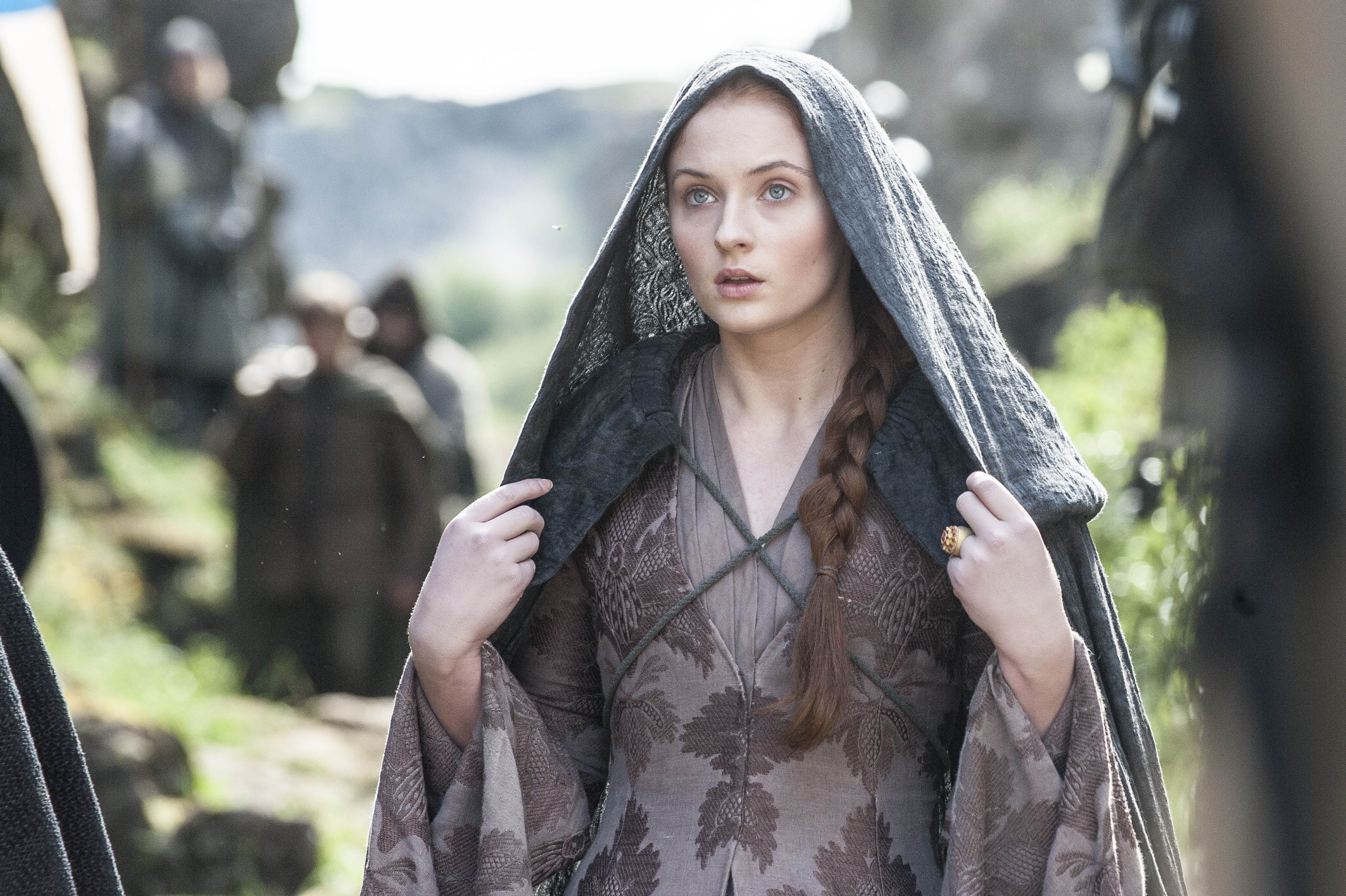 Sophie Turner Sansa Stark Game Of Thrones Season 6 Wallpapers For Desktop