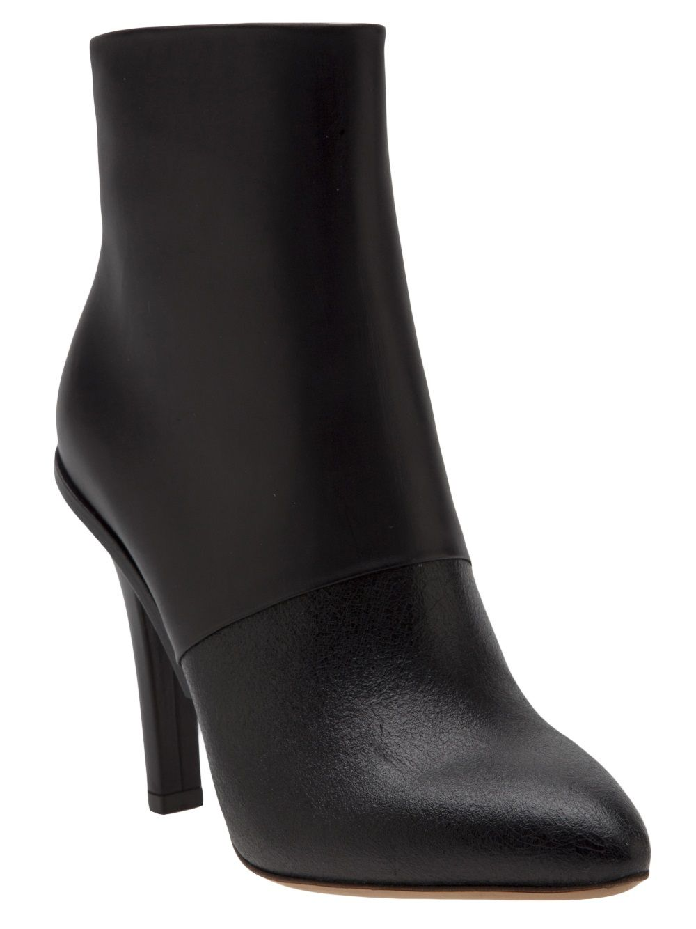 Casadei Black Lace Up Ankle Boot Black Suede 7.5
