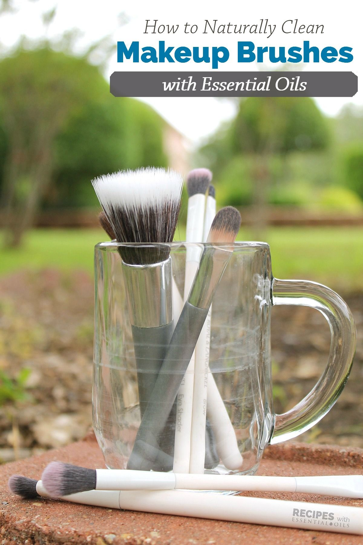 Makeup Brush Cleaner Recipe How to clean makeup