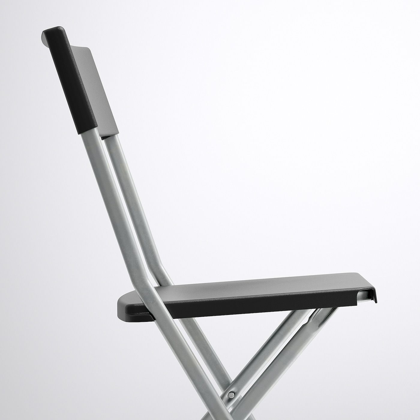 Gunde Folding Chair Black In 2020 Chair Folding Chair Ikea