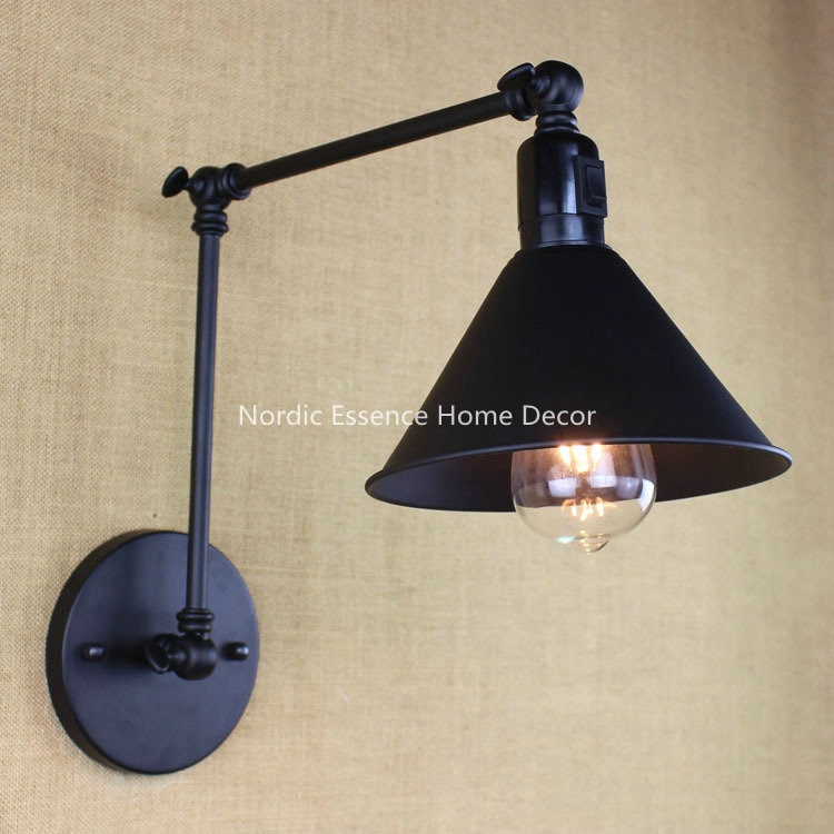 Loading... Wall sconce lighting, Industrial wall lamp