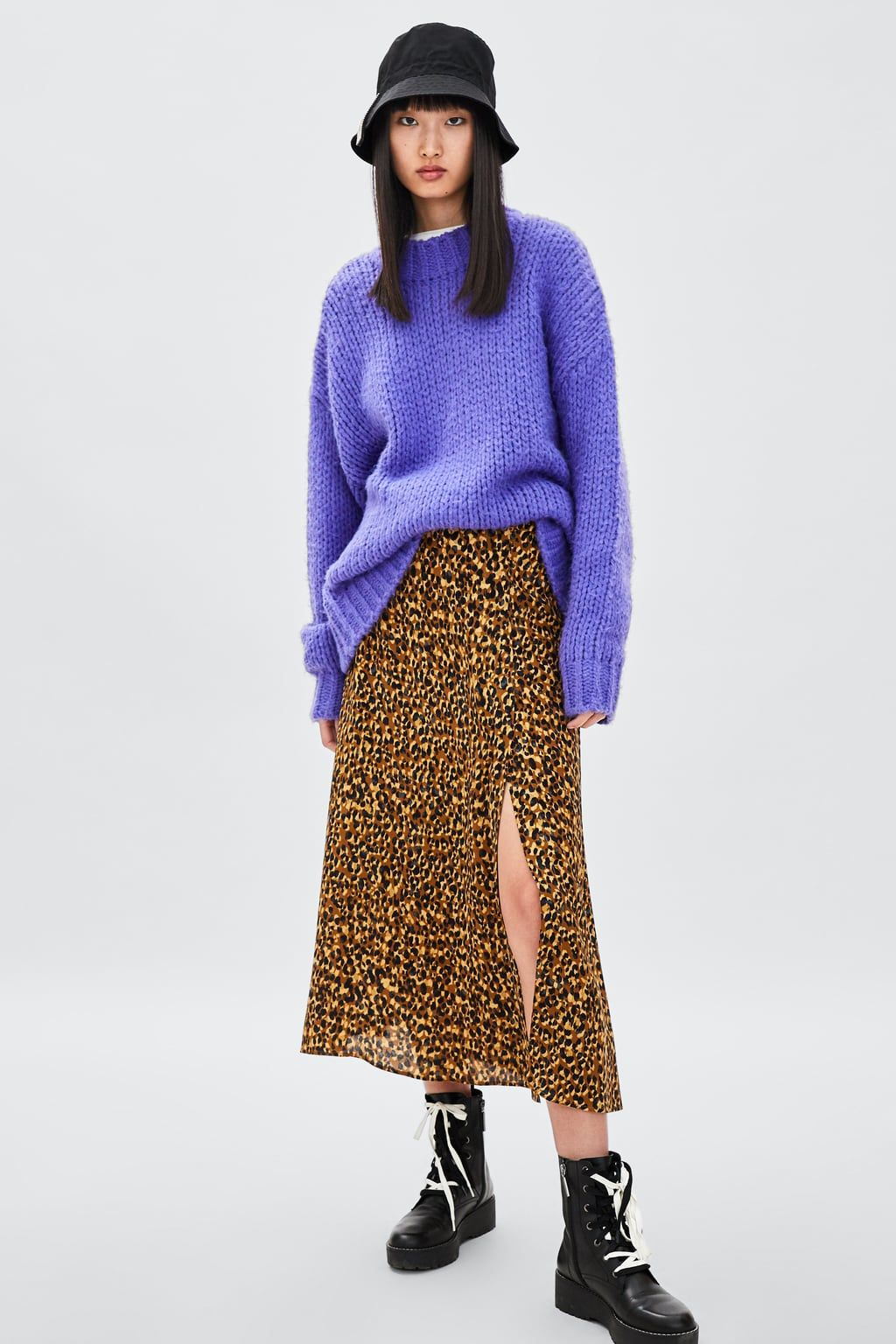 6ec8a614c8 FALDA ESTAMPADO ANIMAL Leopard Print Skirt, Animal Print Skirt, Zara,  Virtual Closet,