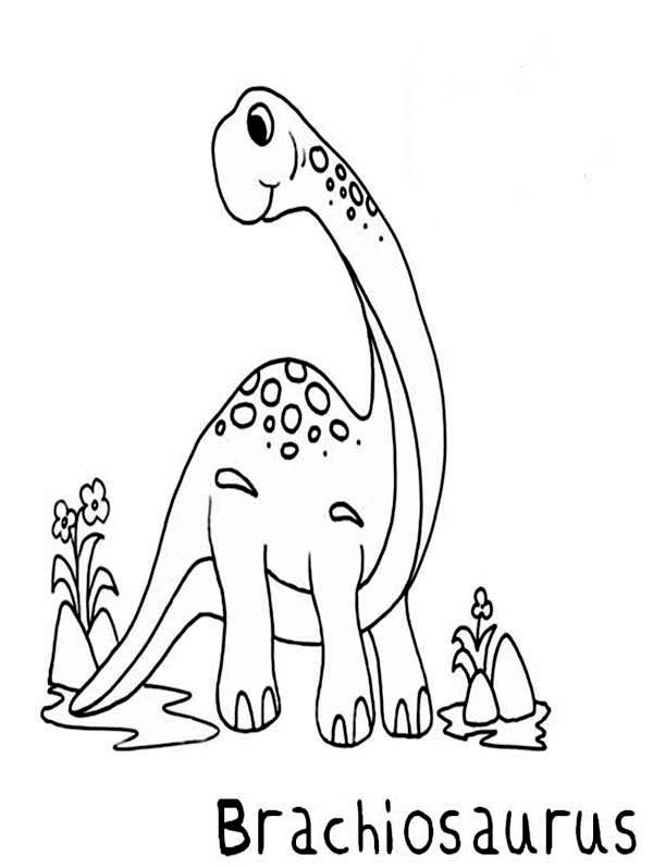 Pin By Colorluna On Brachiosaurus Coloring Pages Coloring Pages Online Coloring Brachiosaurus