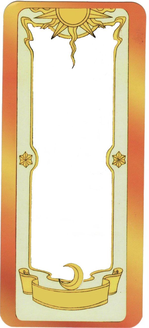 Clow Card Template By Ladyroseofflames On Deviantart Sakura Card Clow Cards Sakura