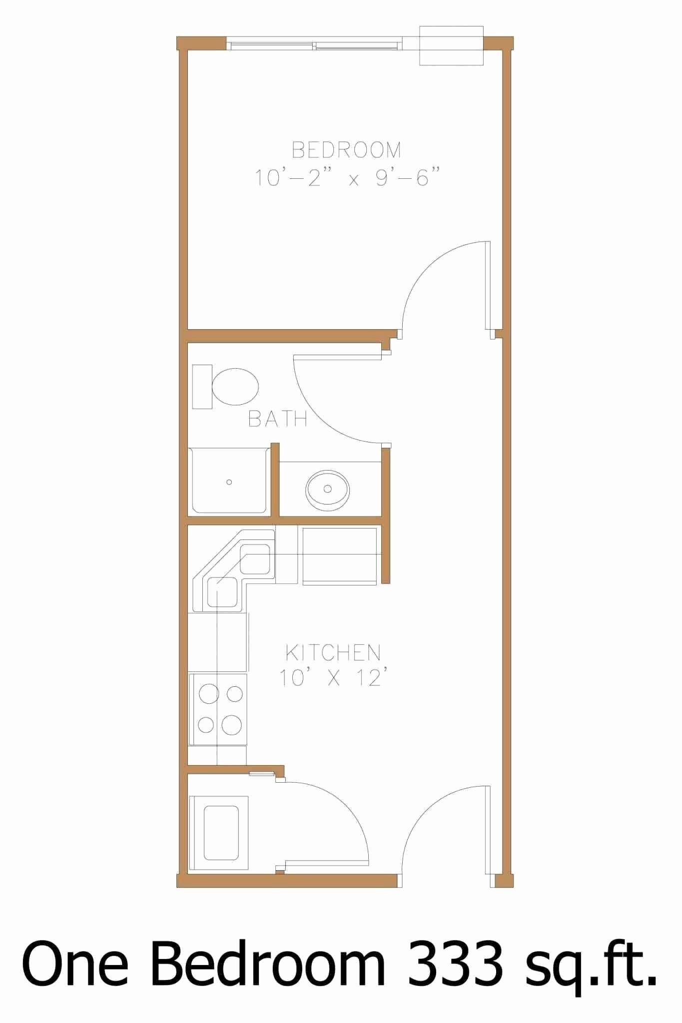 Simple One Bedroom House Plans New Simple Apartment Floor Plan Sensational Cheap Apartment One Bedroom House Plans Bathroom Floor Plans Bedroom House Plans