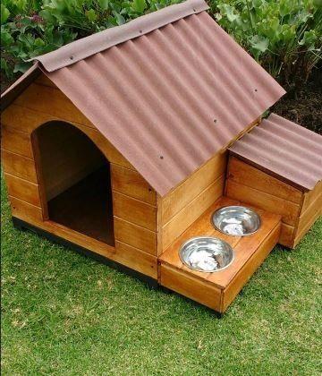 Photo of Casa para perros / Cajón y comedero – $ 180,000