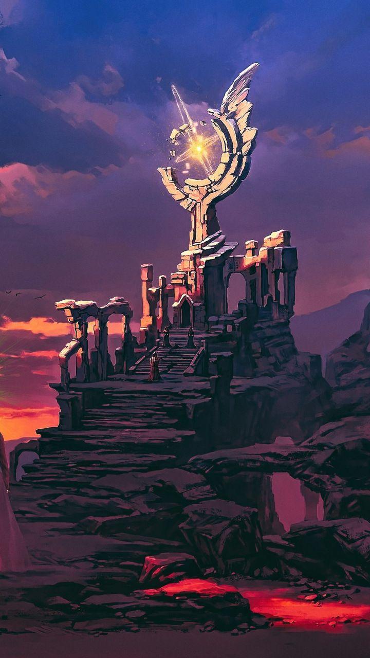 Dusk Fantasy Art