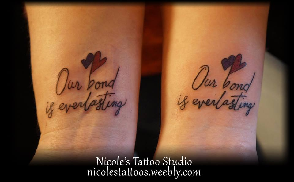 60 Mother Daughter Tattoos for Mothers Day 2020 that zaps this moment - Hike n Dip