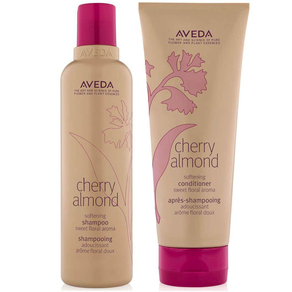 Aveda Cherry Almond Shampoo Conditioner Duo Organic
