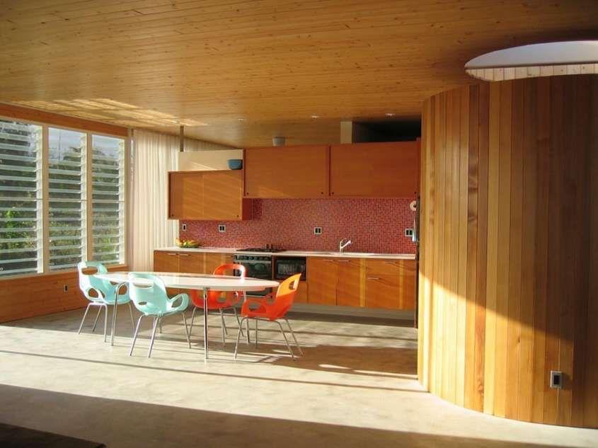 Cucina e soggiorno open space - Cucina e sala da pranzo