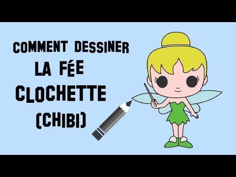 Comment dessiner la f e clochette chibi youtube assistante maternelle pinterest youtube - Comment dessiner une star ...