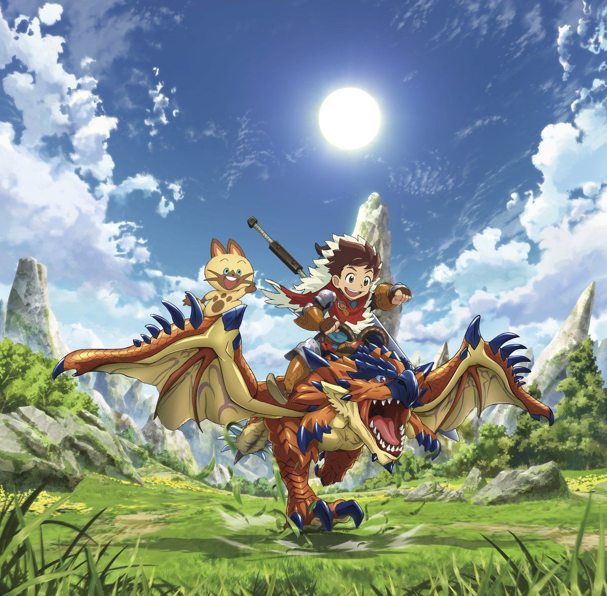 (37) Twitter Monster hunter, Hunter anime, Monster