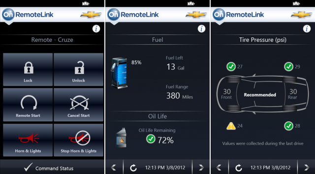 OnStar640x353.png (640×353) Future car, Cruze, Remote start