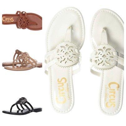 85b1cb012d6e Tory Burch Miller sandal dupes for under  50! Sam Edelman sandals. Dupe  sandals. tory burch dupes. Miller sandals