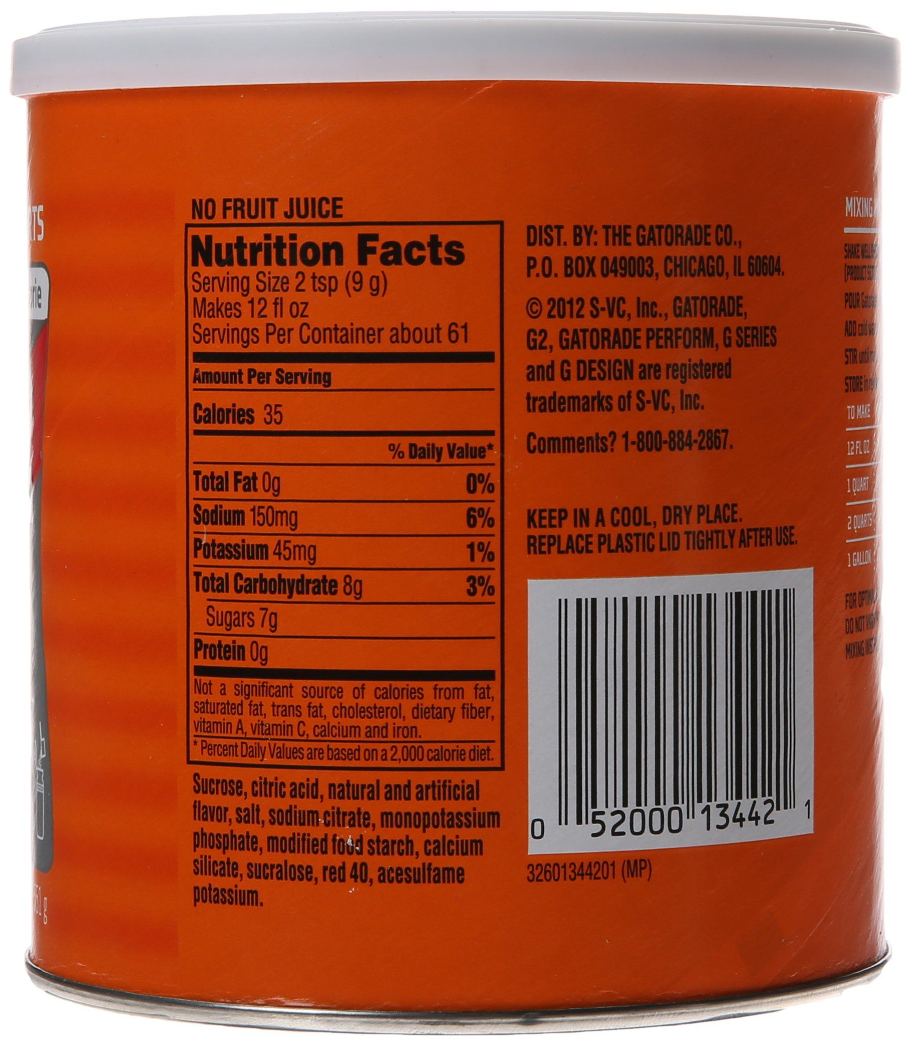 Gatorade Perform G2 02 Perform Thirst Quencher Instant Powder Fruit Punch Drink 19 4 Oz 1 Each Want To Know More Click On Punch Drinks Fruit Punch Drinks