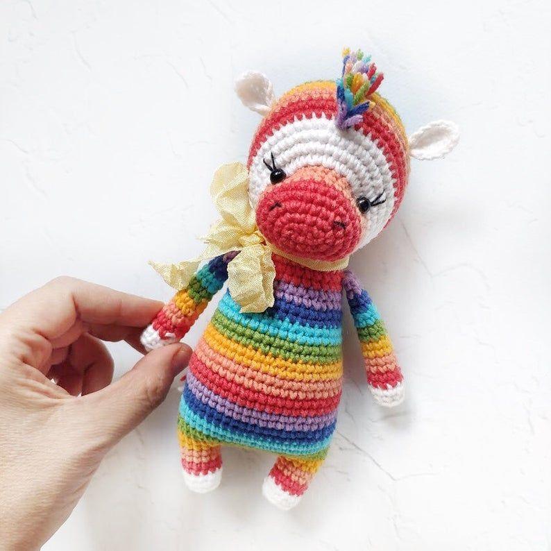 Zebra CROCHET PATTERN. Zara The Zebra. Crochet Zebra Pattern. | Etsy | 794x794