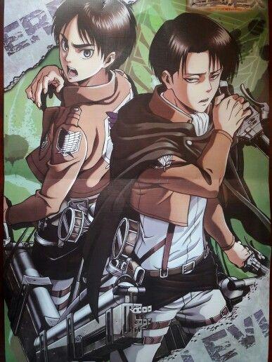 I just bought this AOT poster!! Only for $3.50 XD I'm soo happy #AOT #AttackOnTitans #Ereri #Levi #Eren #ShingekiNoKyojin #Rivaille #ErenJaeger #LeviAckerman