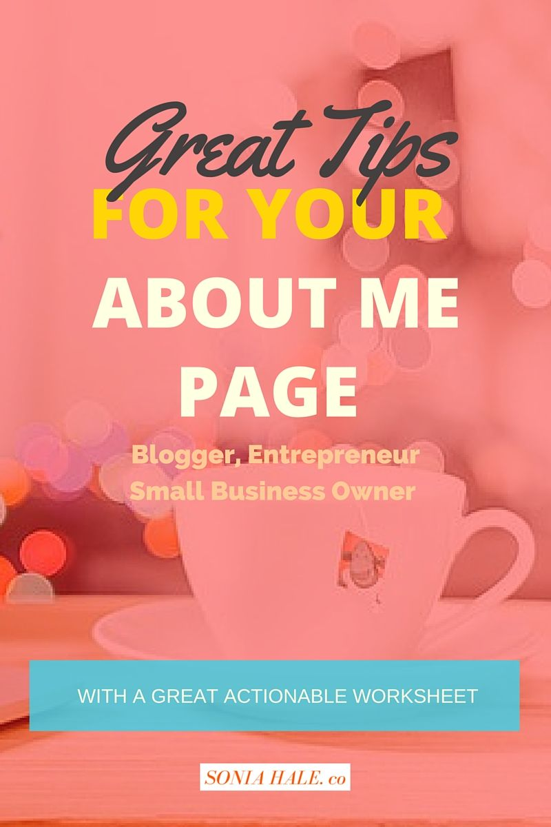 Click through to learn about how to set up Your About Me Page, Blog, How To Start A Blog, How To Create A Blog, Blogging, Start A Blog, How To Make A Successful Blog