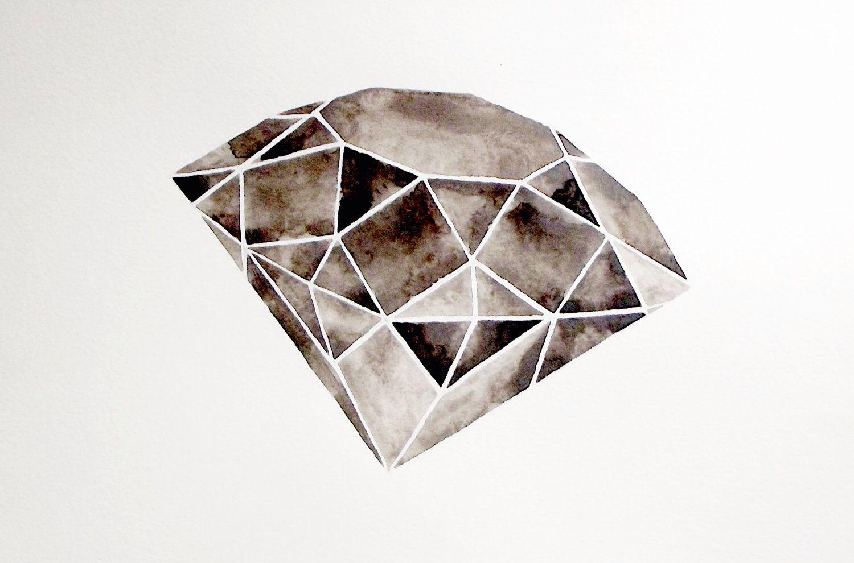 large diamond painting watercolor diamond painting