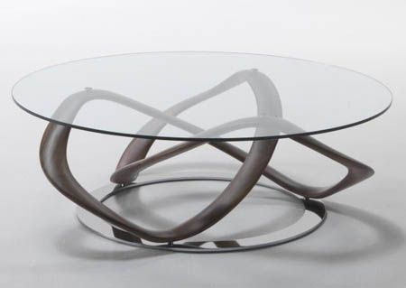 Porada Infinity Oval Coffee Table Contemporary Designer Furniture - mesas de diseo