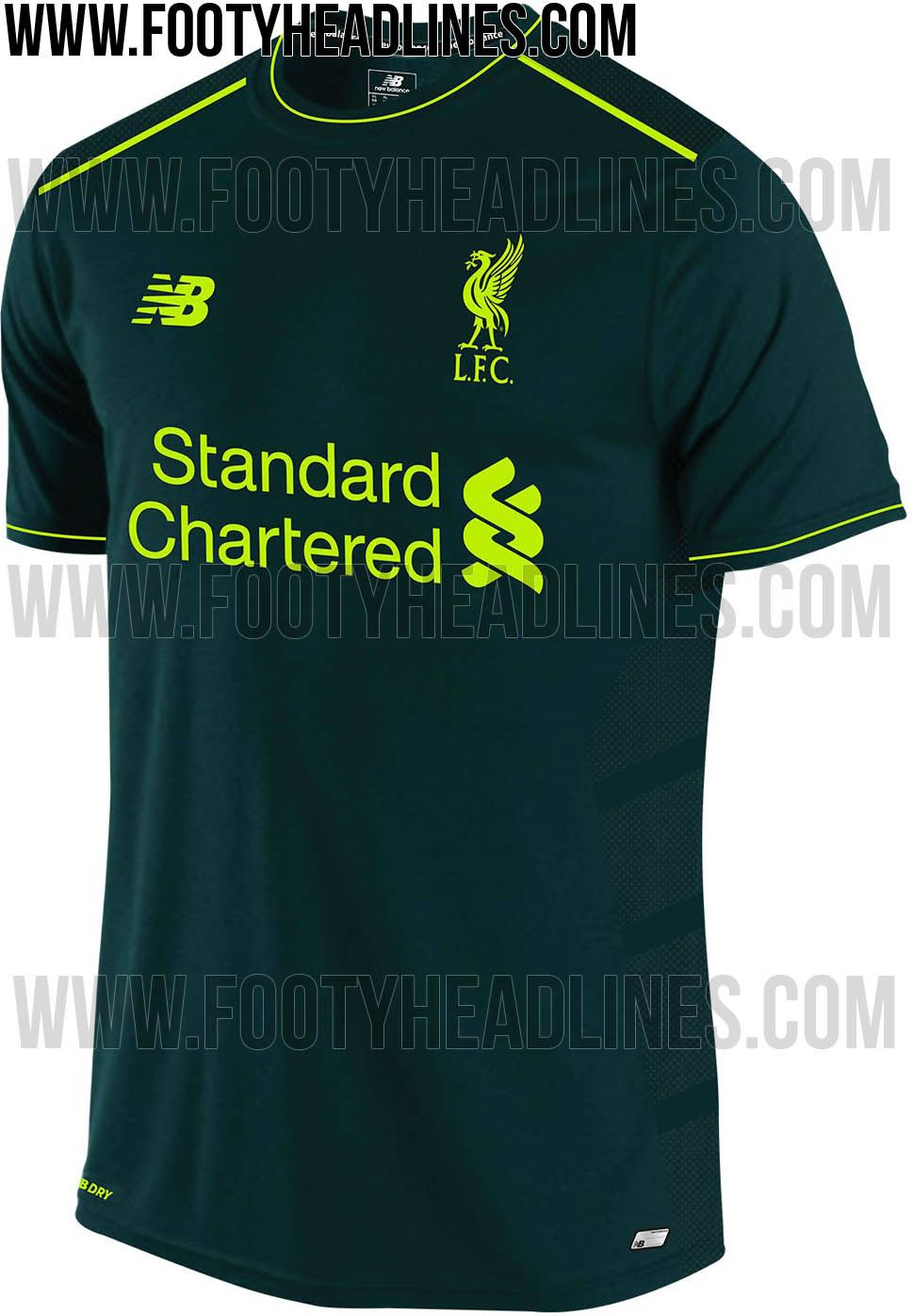 Liverpool 16-17 Third Kit Leaked - Footy Headlines  07fedc37f