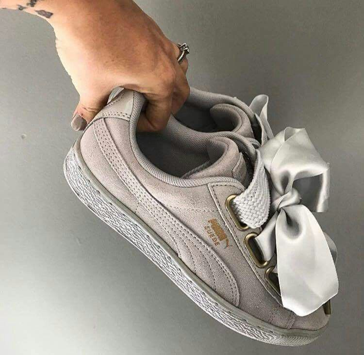 puma chaussures femes noeud