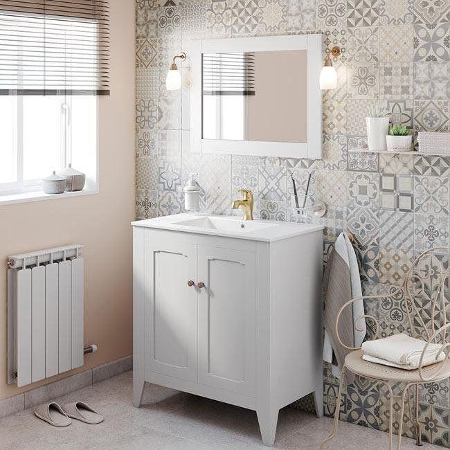 Ideas para baños pequeños Sustituir el lavabo por un mueble de baño
