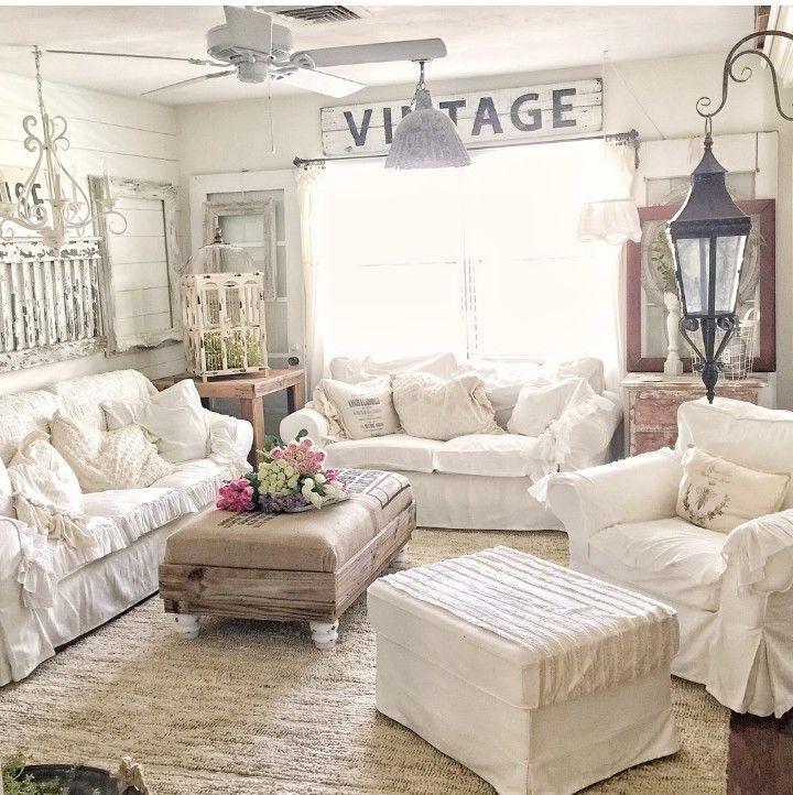 52 Cozy Rustic Farmhouse Living Room Decoration Ideas images