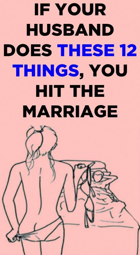 If Your Husband Does These 12 Things You Hit The Marriage Jackpot #health #food…