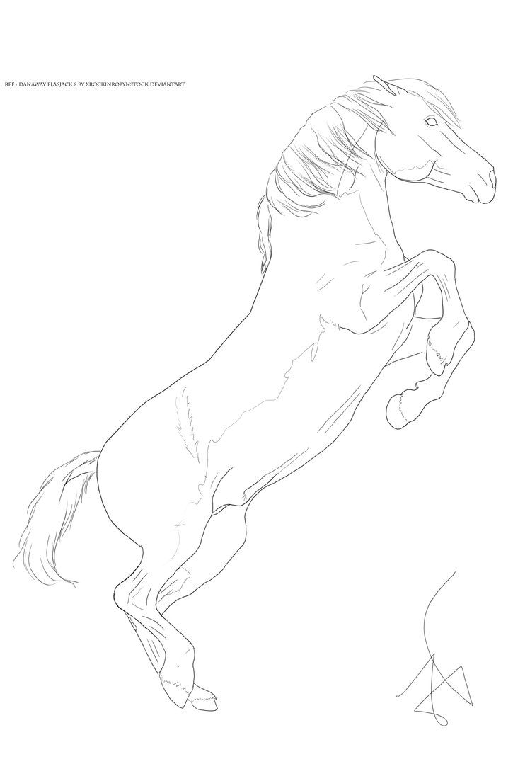 Lineart 90 By Zoecormerais On Deviantart Horse Coloring Pages Horse Coloring Line Art Drawings [ 1103 x 725 Pixel ]