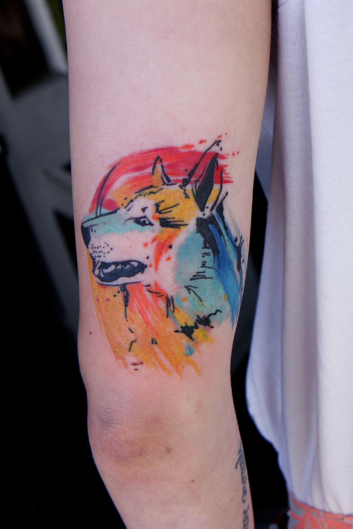 15 Watercolor Dog Tattoos To Give You Major Ink Spiration Dog