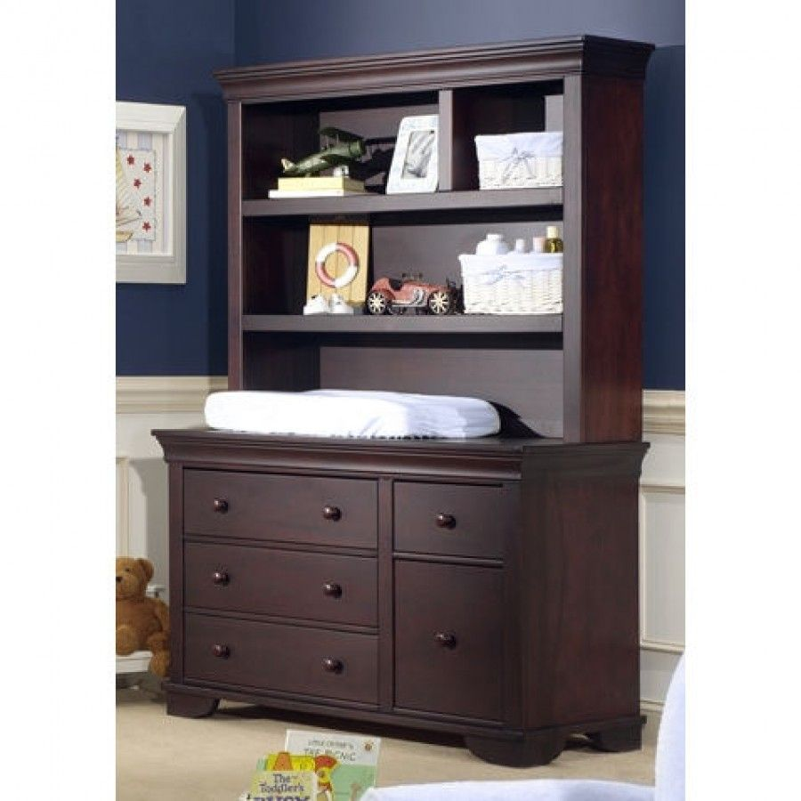 Cocoon Nursery Furniture 7000 Series Dressing Station and Hutch ...