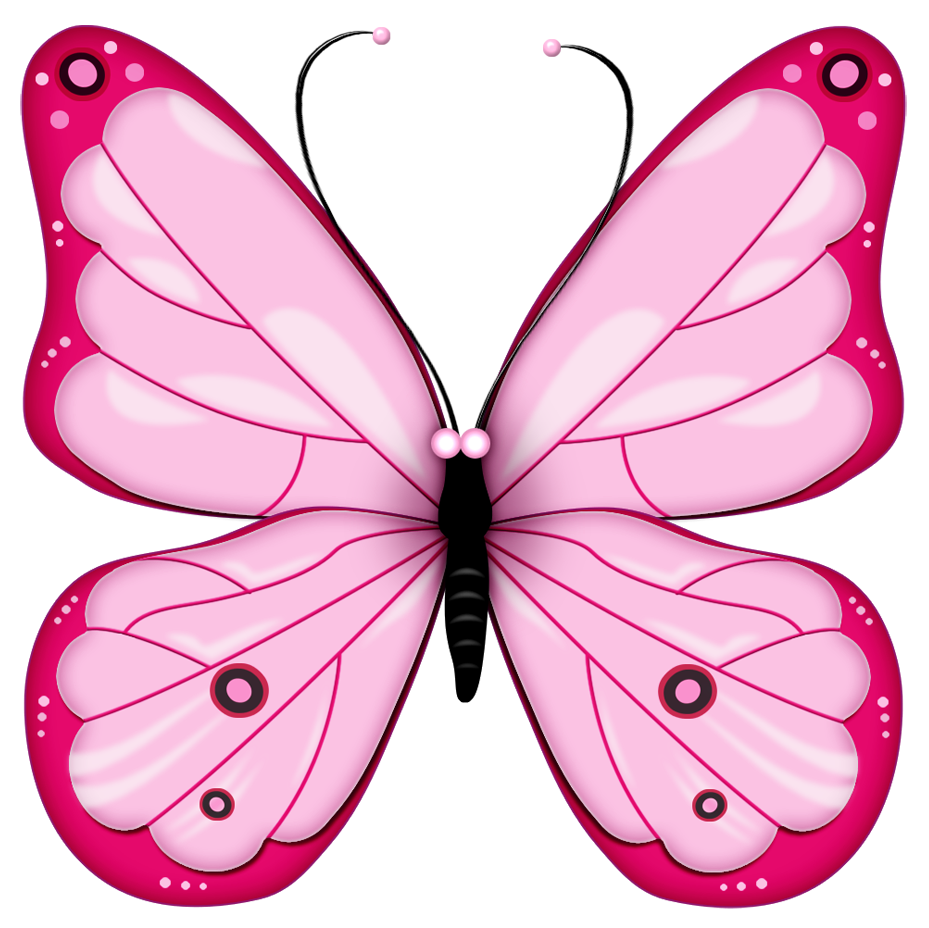 everything pink clip art use these free images for your websites rh pinterest com pink butterfly clipart png pink butterfly outline clipart