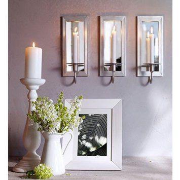 Amazon Com Ikea Gemenskap Wall Sconce Candle Holder Mirror