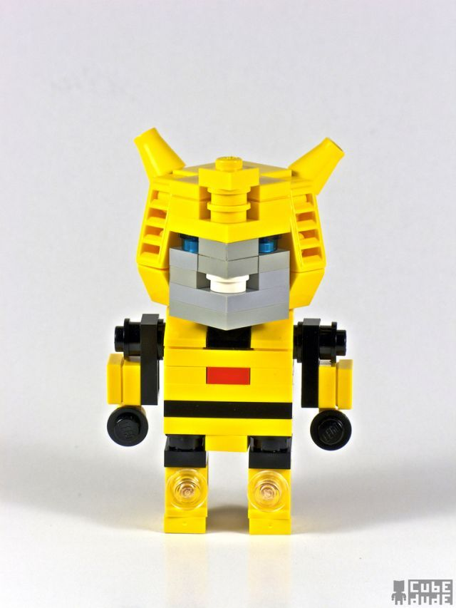 Pop culture icons in Lego by Cube Dude : BUMBLEBEE