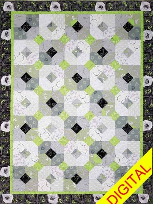 Twist of Lime Digital Pattern