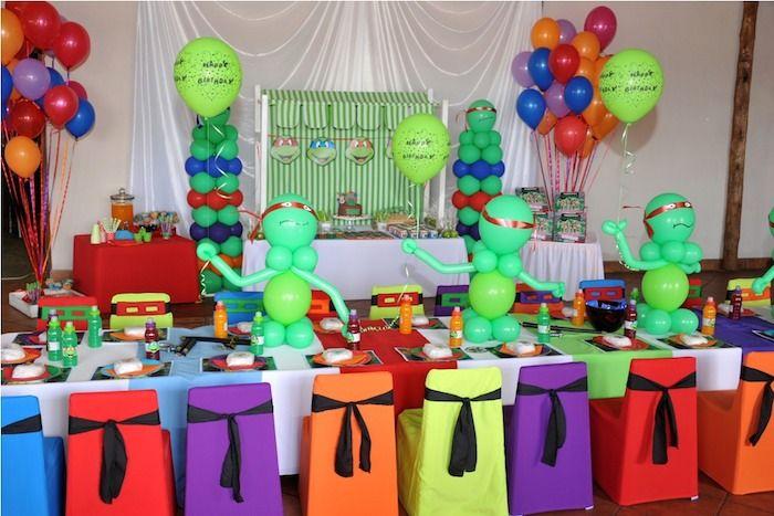 Ninja Turtle Birthday Party Ideas Decor Planning Ninja