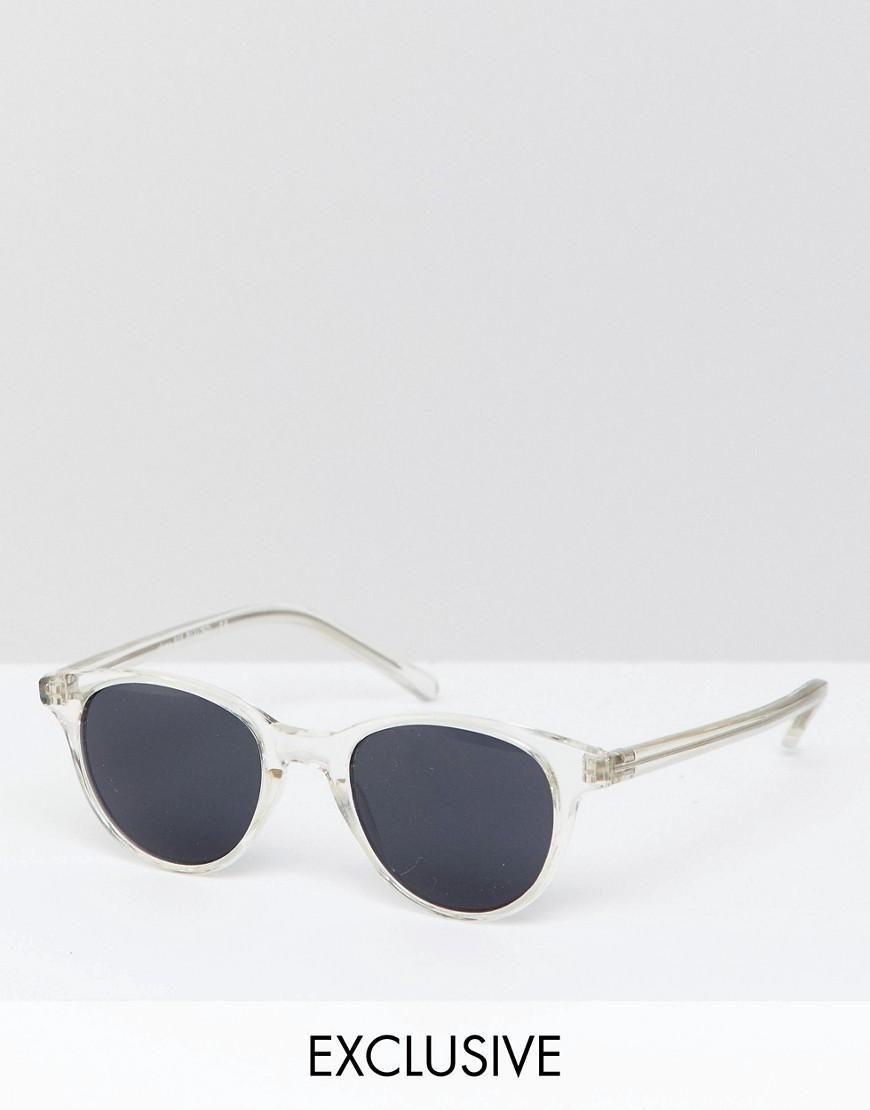 b8072ab0b5  Valentines  AdoreWe  ASOS -  Reclaimed Vintage Reclaimed Vintage Inspired  Round Sunglasses In