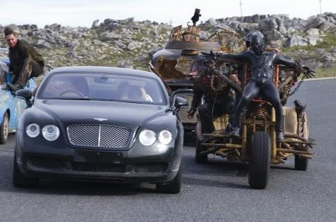 Doomsday Car Chase With Bentley Fictional Car Doomsday Car
