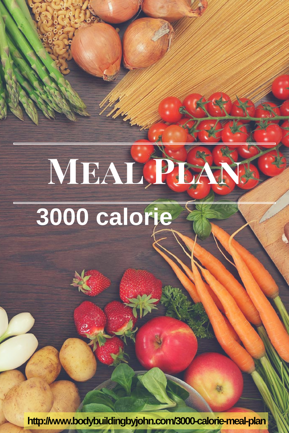 3000 Calorie Meal Plan BodyBuilding By 3000